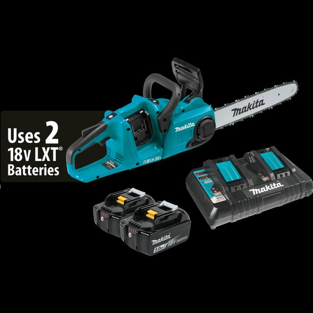 Where to find MAKITA CORDLESS 14  CHAIN SAW KIT in Woodland